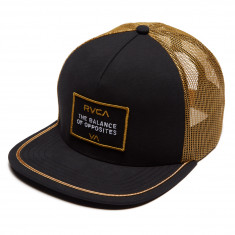 RVCA Billboard Trucker Hat - Black