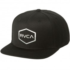 RVCA Commonwealth III Snapback Hat - Black