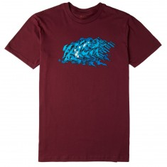 RVCA Splat T-Shirt - Tawny Port