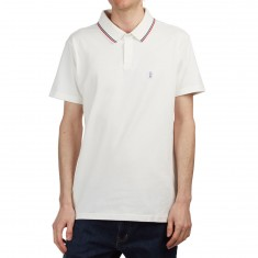 RVCA Smokey Polo Shirt - Antique White