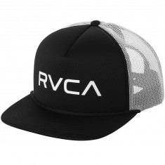 RVCA Foamy Trucker Hat - Black/White