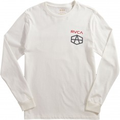 RVCA Reynolds USA Longsleeve T-Shirt - White