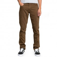 RVCA Daggers Denim Pants - Brown