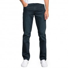 RVCA Daggers Denim Pants - Blue Rinse