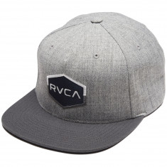 RVCA Commmonwealth III Snapback Hat - Athletic Heather