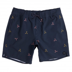 RVCA Middle Elastic Boardshorts - Carbon