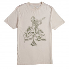 RVCA Mortal Justice T-Shirt - Cement