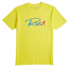 RVCA Skratch T-Shirt - Lemon Zest