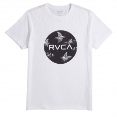 RVCA Motors Fill Up T-Shirt - Antique White