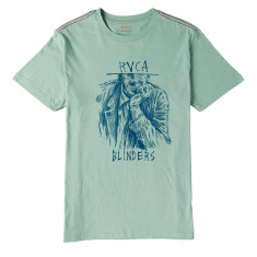 RVCA Blinders T-Shirt - Green Haze