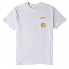 RVCA Blue Panther T-Shirt - White