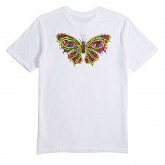 RVCA Dmote Butterfly T-Shirt - White