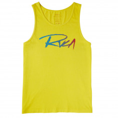 RVCA Skratch Tank Top - Lemon Zest