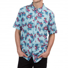 RVCA Mcmillan Floral Shirt - Blue Floral