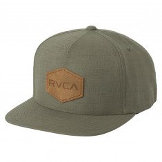 RVCA Commonwealth Deluxe Hat - Green Heather