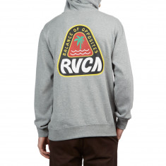 RVCA Logo Pack Hoodie - Athletic Heather