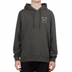 RVCA Logo Pack Hoodie - Pirate Black