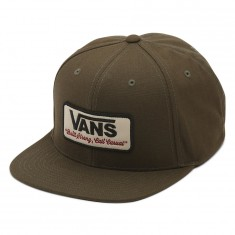 Vans Rowley Snapback Hat - Grape Leaf