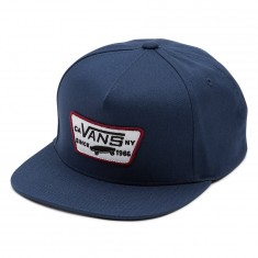 Vans Full Patch Snapback Hat - Dress Blues/Rhubarb