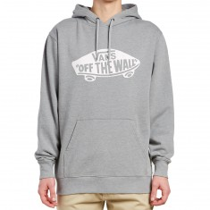 Vans OTW Pullover Fleece Hoodie - Cement Heather/White