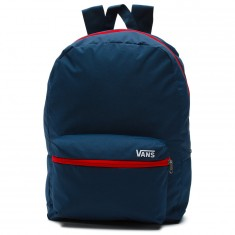 Vans Packable Old Skool Backpack - Dress Blues/Racing Red
