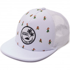 Vans Surf Patch Trucker Hat - White Hula Daze