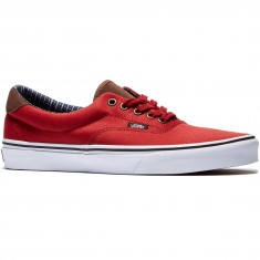 Vans Era 59 Shoes - Red Dahila/True White