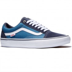 Vans Old Skool Pro Shoes - Navy/Navy/White