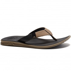 Reef Slammed Rover Sandals - Black/Tan