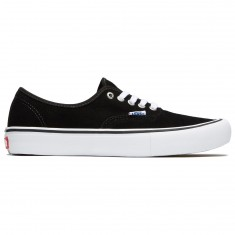 Vans Authentic Pro Shoes - Black Suede