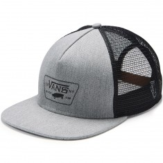Vans Chain Patch Trucker Hat - Heather Grey