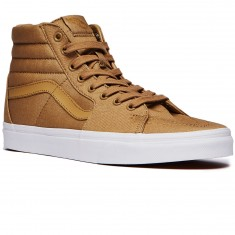 Vans Sk8-Hi Shoes - Khaki/True White