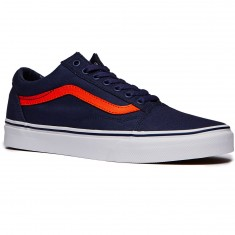 Vans Old Skool Shoes - Crown Blue/Mandarin Orange