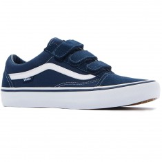 Vans Old Skool Priz Pro Shoes - Navy/White