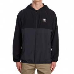 Adidas Blackbird Packable Wind Jacket - Black/Carbon