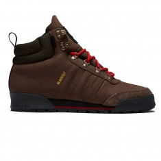 Adidas Jake Boot 2.0 Shoes - Brown/Scarlet/Black