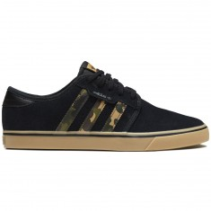 Adidas Seeley Shoes - Core Black/Cardboard/Gum