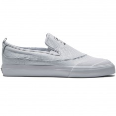 Adidas Matchcourt Slip Shoes - White Leather/White/White