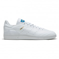Adidas Busenitz RX Shoes - White/Gold Metallic/Bluebird