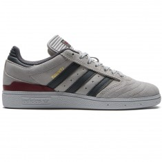Adidas Busenitz Shoes - Grey/Customized/Collegiate Burgundy