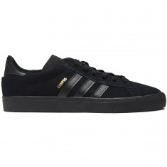 Adidas Campus Vulc II Shoes - Core Black/Core Black/Core Black