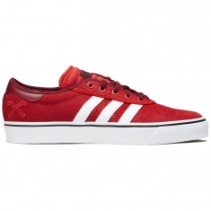 Adidas X Bonethrower Adi-Ease Premiere Shoes - Red/White/Collegiate Burgundy