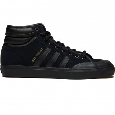 Adidas Matchcourt High RX2 Shoes - Core Black/Core Black/Gold