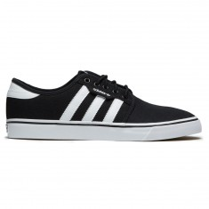 Adidas Seeley Shoes - Black/White/Solid Grey