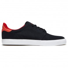 Adidas Seeley Court Shoes - Black/Black/Scarlet