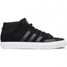 Adidas Matchcourt Mid Shoes - Core Black/Core Black/White