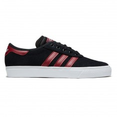Adidas Adi-Ease Premiere Shoes - Core Black/Collegiate Burgundy/White
