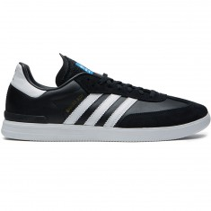 Adidas Samba ADV Shoes - Core Black/White/Bluebird