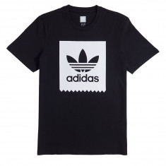 Adidas Solid BB T-Shirt - Black/White