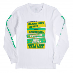 Adidas Island Love Affair T-Shirt - White/Yellow/Green